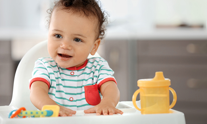 When can babies drink water?
