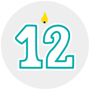Month 12 Icon