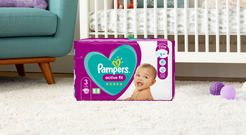 Pampers® Active Fit