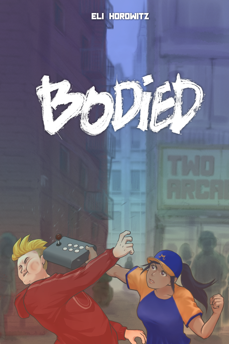 Cover art for the novel Bodied