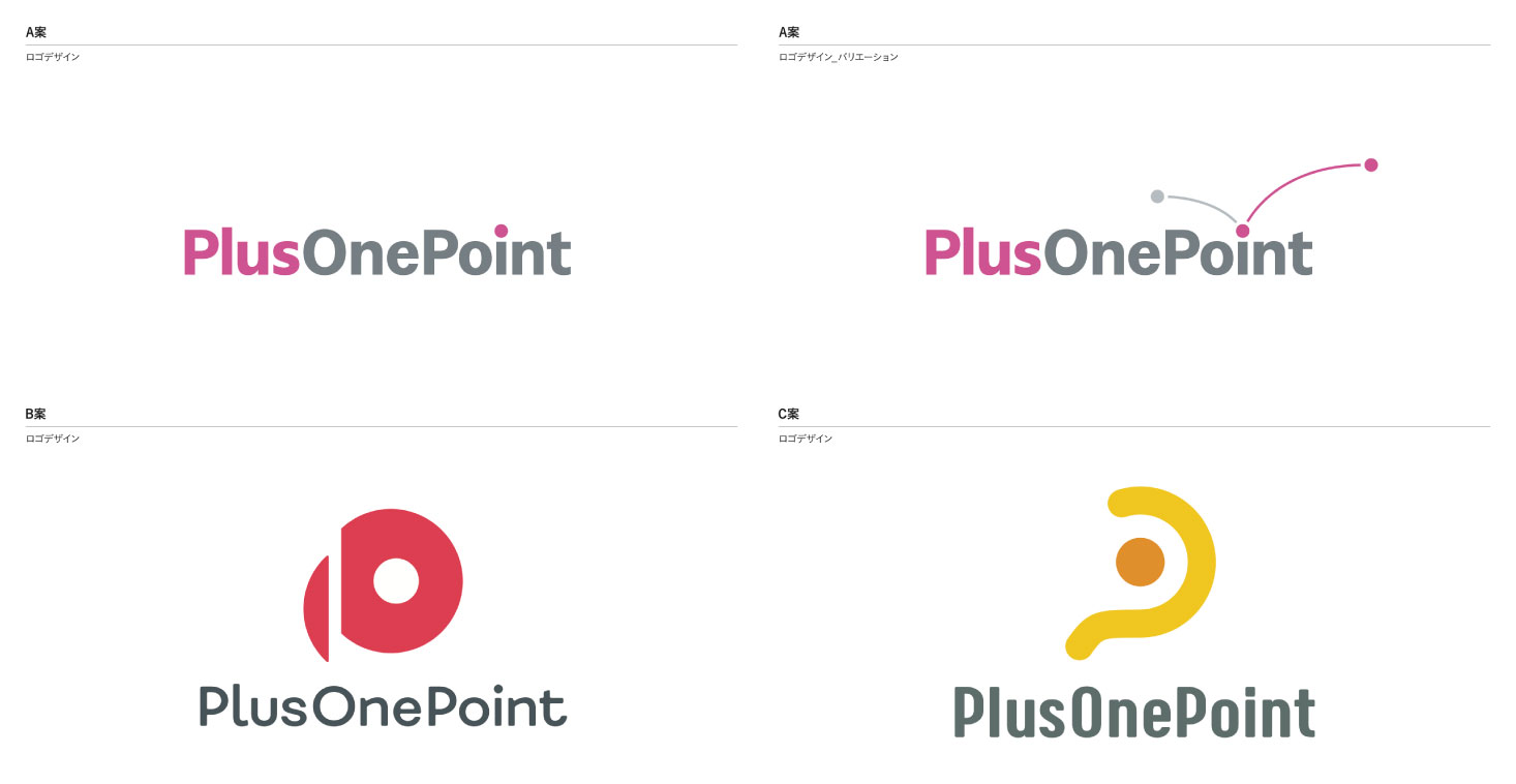 PlusOnePointロゴ