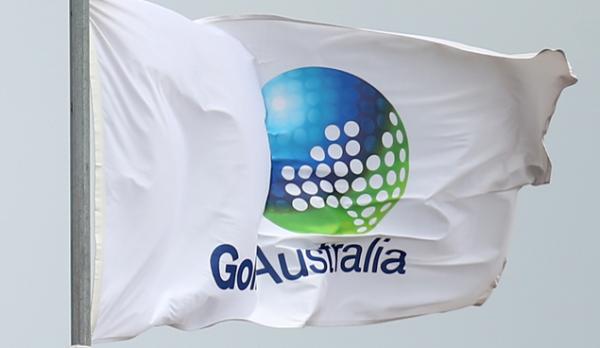 Golf Australia flag
