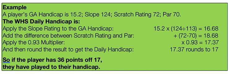 WHS Handicap formula_image