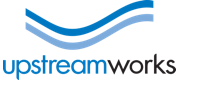 Upstream works logo