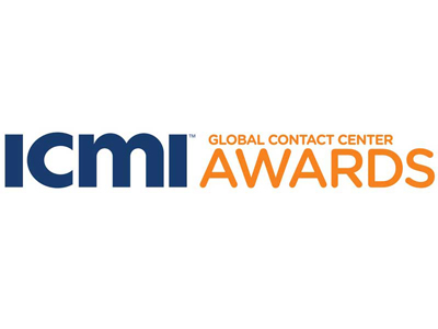 ICMI Global Contact Center awards logo