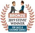 Bronze Stevie Logo