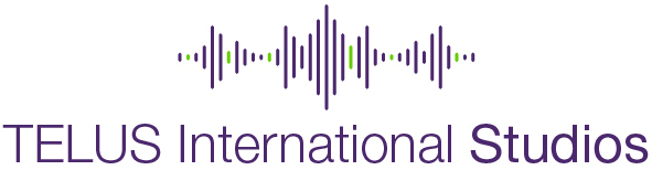 The logo for Telus International Studios