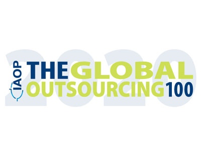 2020 Global Outsourcing 100 logo