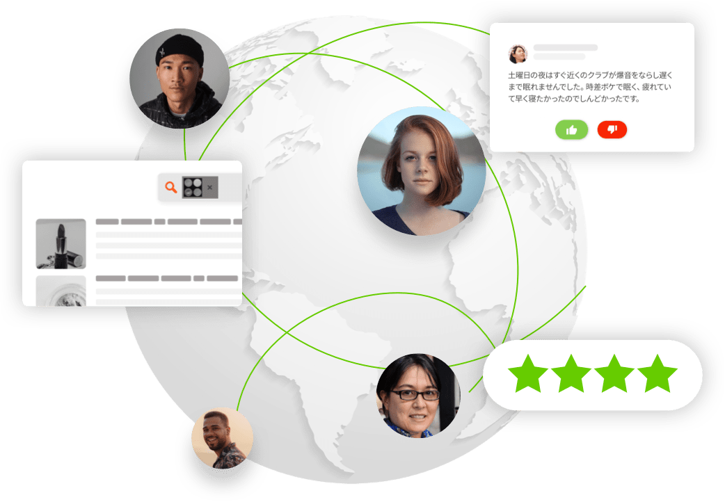 Our AI Data crowd across the globe