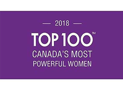 2018 Top 100 Canada's Most Powerful Women