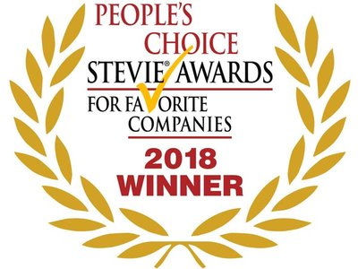 People's Choice Stevie Awards for Favorite Companies 2018 Winner