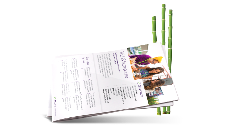 TELUS International Overview Brochure Image