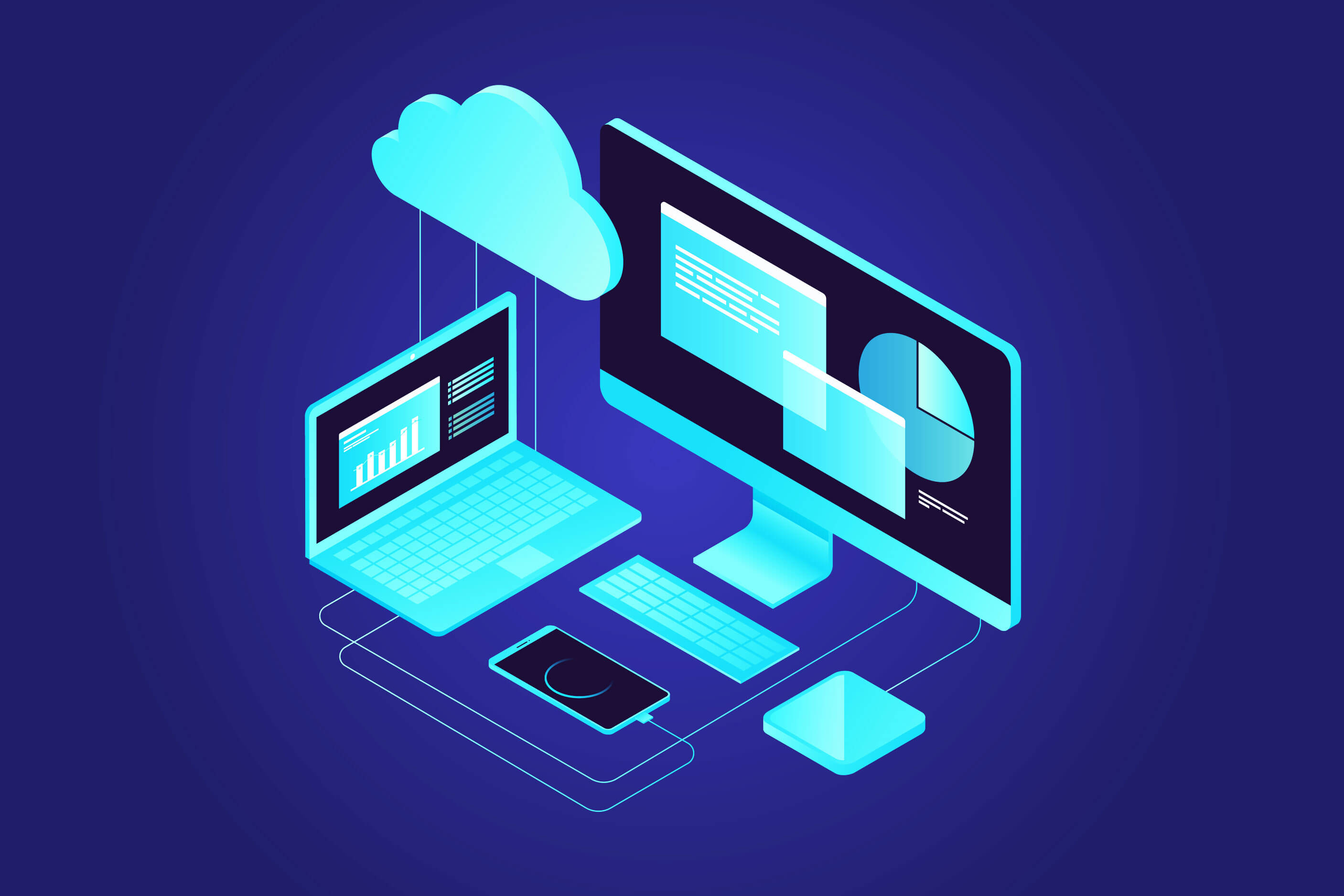 VDI cloud technology image