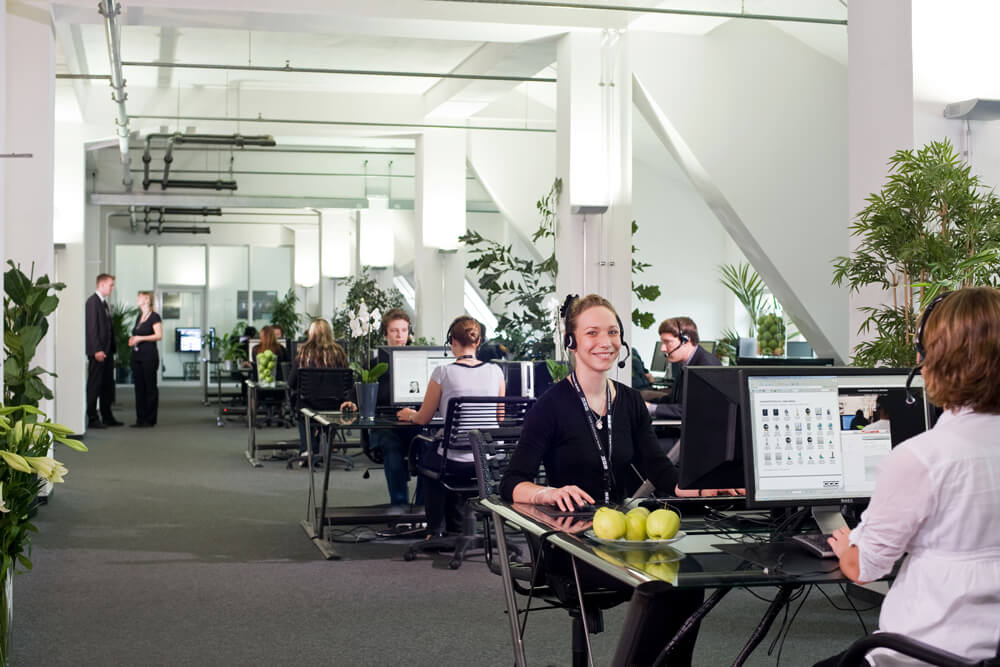 Call center in Germany