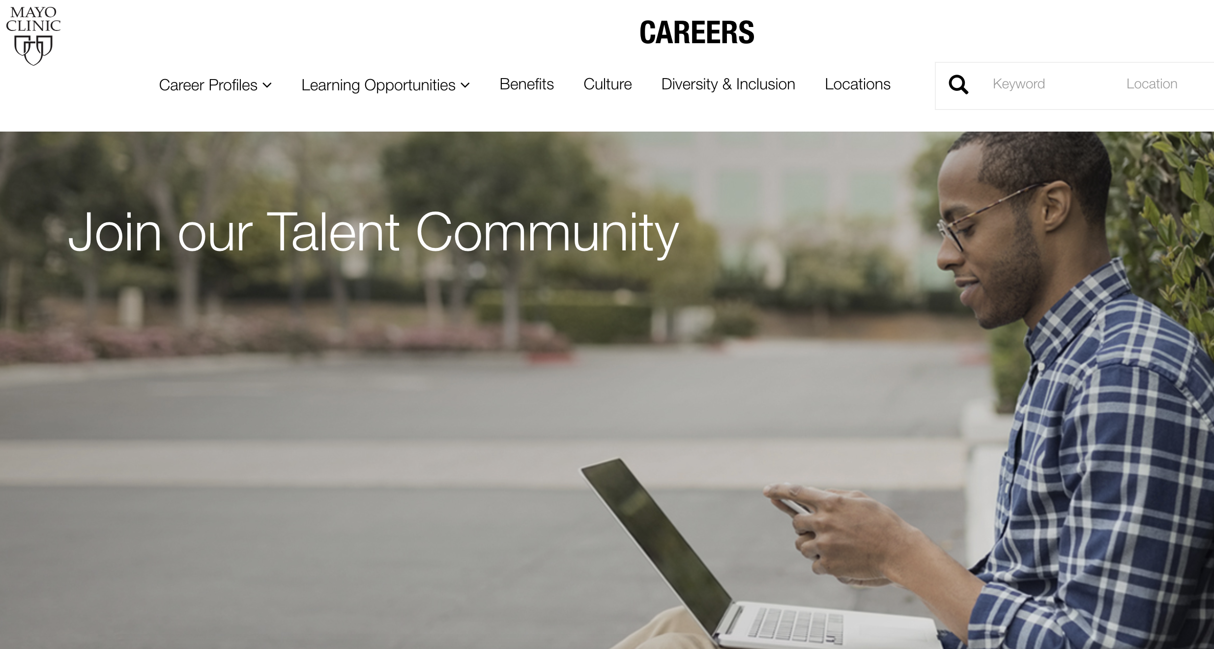 Talent network Mayo clinic