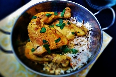 Coconut Curry Lime Chicken