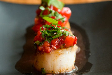 scallop strawberry salsa