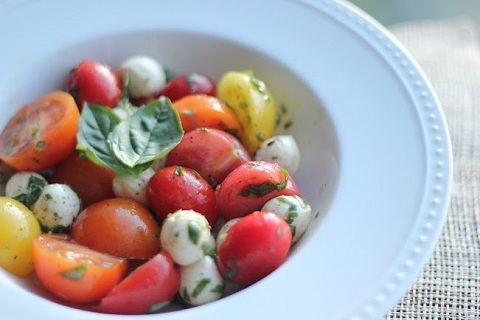Colorful Caprese Salad from Chic Chef