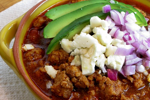 Pork and Turkey Chili