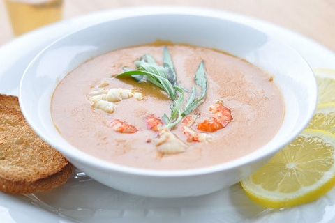 Lobster and Crawfish Bisque