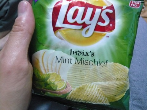 Mint Mischief Potato Chips