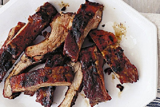 Dry Rubbed Baby Back Ribs from My Recipes Photo by Lisa Hubbard