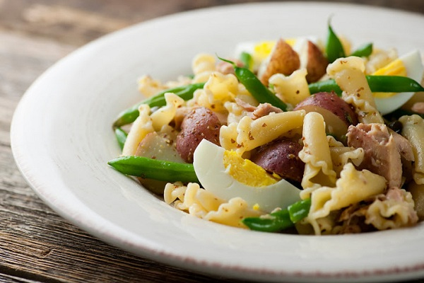 Tuna Nicoise Pasta from Framed Cooks