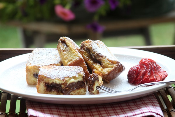 Nutella Stuffed French Toast from Food52 (Photo by Show Food Chef)