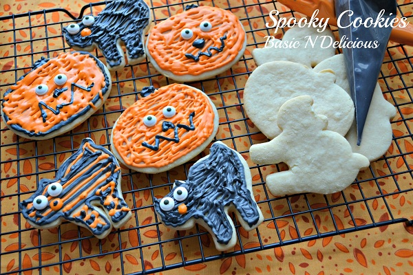 Spooky Cookies from Basic 'n' Delicious