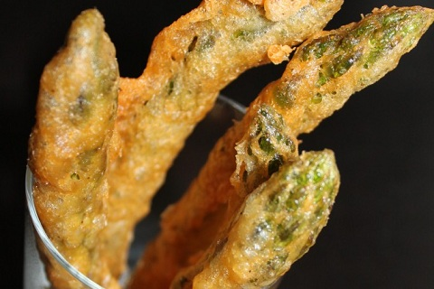 Beer Battered Asparagus