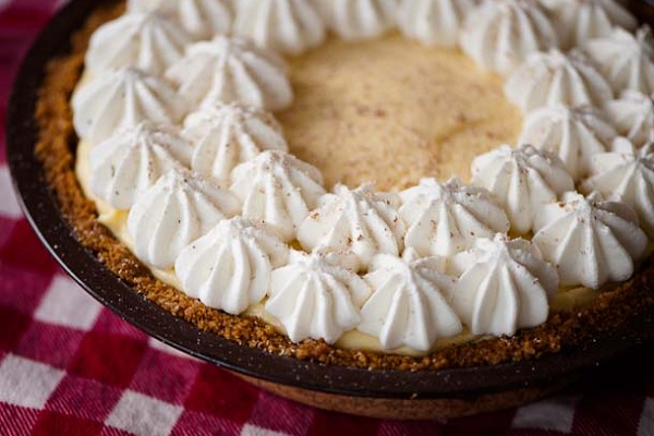 Eggnog Cream Pie from Serious Eats