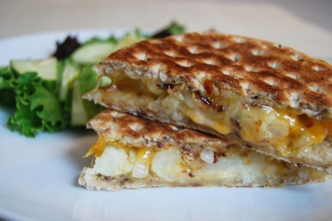 The Sergeant Pepper grilled cheese (from The Starved Writer)
