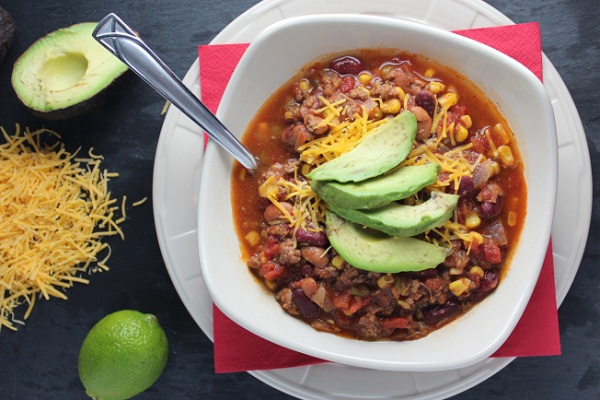Crock Pot Taco Soup from Little Leopard Book