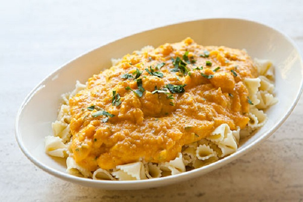 Pasta with Butternut Parmesan Sauce from Simply Recipes