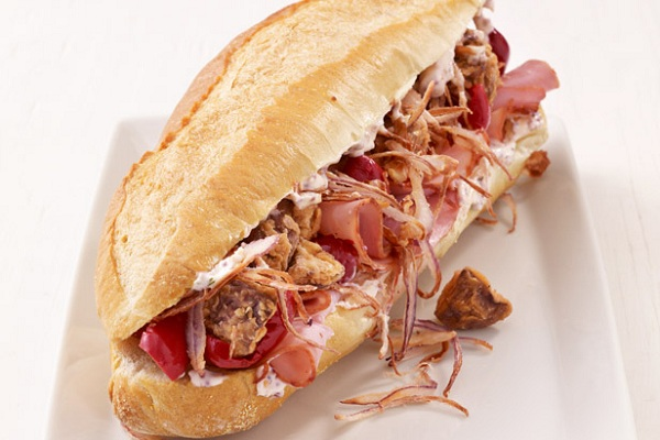 Mushroom and Ham Sub Sandwiches from Food Network, Photo by Antonis Achilleos