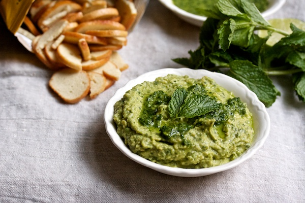 Herby Avocado Hummus from Big Girls Small Kitchen