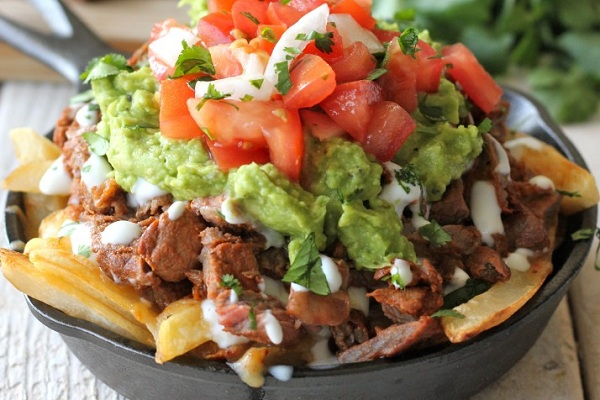 Carne Asada Fries from Damn Delicious