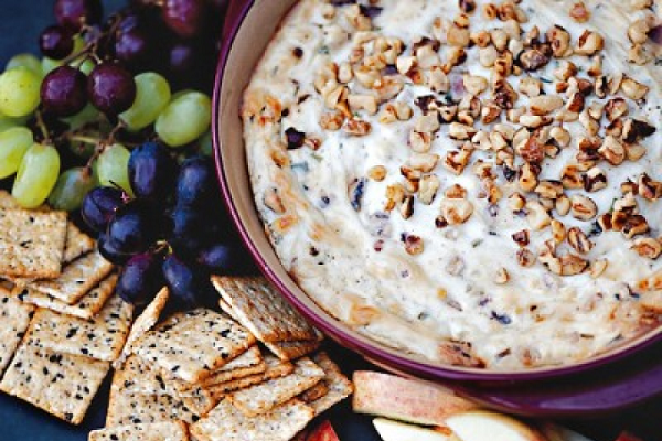 Blue Cheese Dip with Pecans from Epicurious