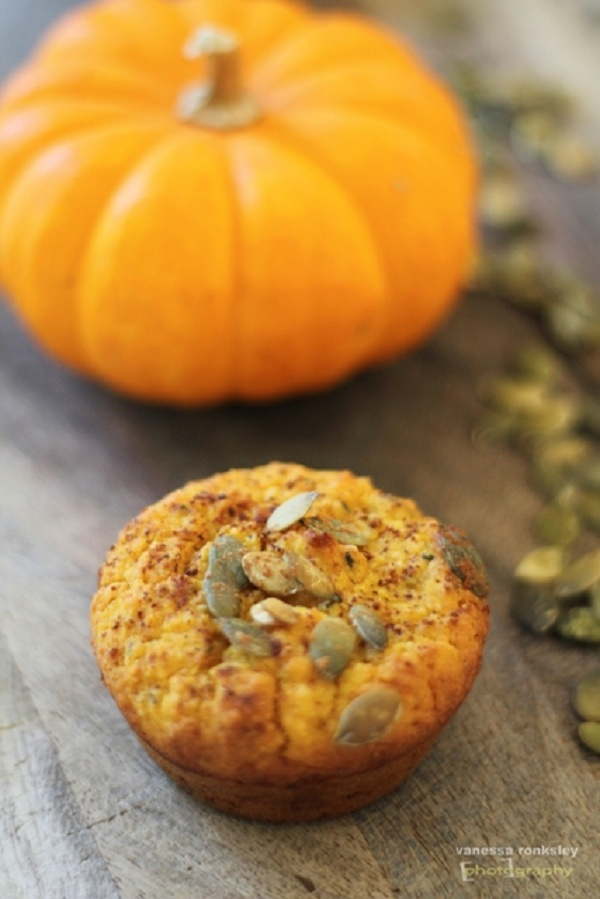Sweet Potato Muffins for fall from Shirley Plant