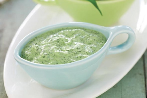 Svelte Green Goddess Dip from Leite's Culinaria, Photo by Sheri Giblin