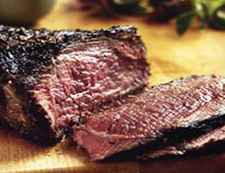 Grilled Tri Tip with Black Olive Aïoli