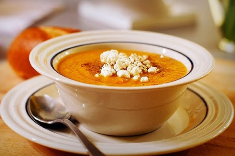 Carrot Ginger Soup