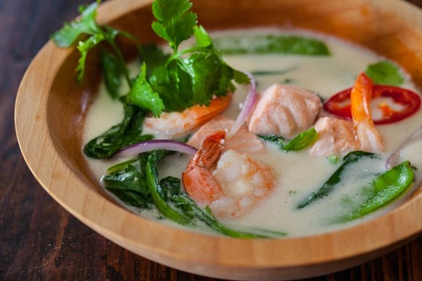 Thai Fish Soup from Steamy Kitchen