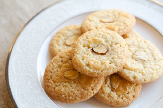 Chinese Almond Cookies from Simply Recipes Photo by Garrett McCord
