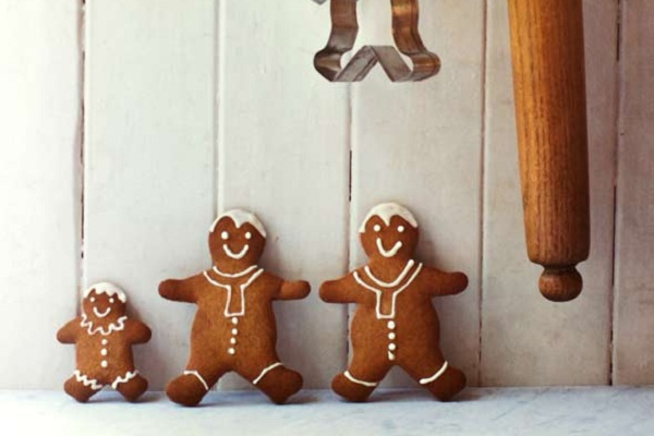 Gingerbread Men Cookies from Leite's Culinaria
