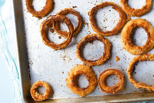 Baked Onion Rings from Martha Stewart