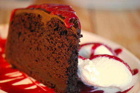 Mint Chocolate Beet Cake