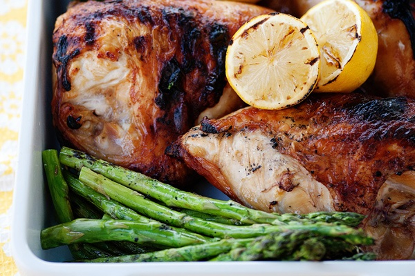 Sweet Tea Brined Chicken from Baked Bree