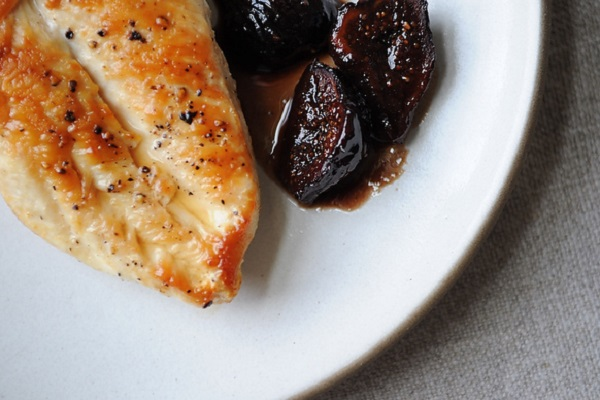 Chicken with Figs, Wine, and Honey from Food52