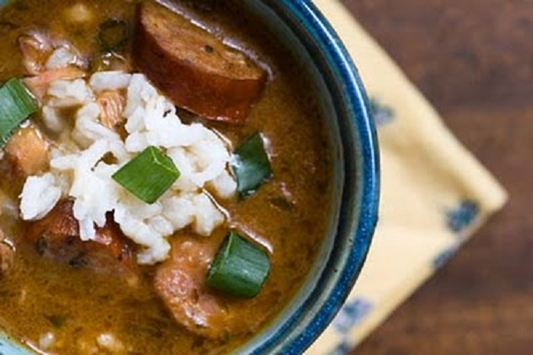 Chicken and Sausage Gumbo from Homesick Texan